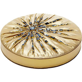 Charbonnel et Walker Swarovski Crystals Sunburst 1kg Couture Silk Chocolate Box